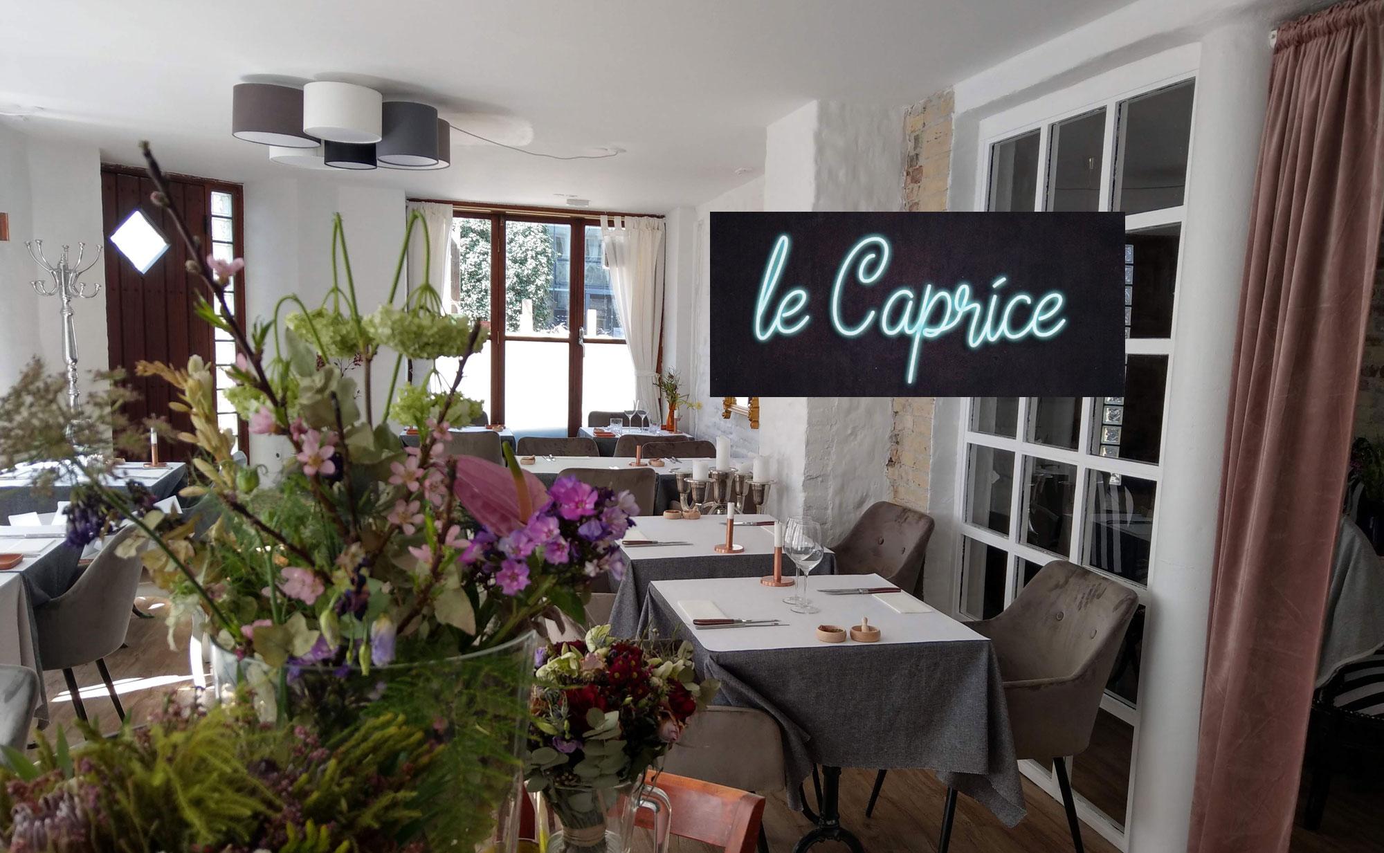 Le Caprice - fransk Restaurant